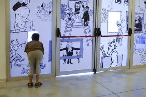 https://commons.wikimedia.org/wiki/File:The_Israeli_Cartoon_Museum,_Display_View_005.jpg