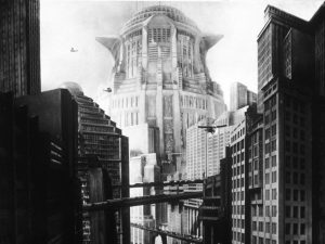 Metropolis  Year: 1927 - Germany   Director: Fritz Lang Photographer: Horst von Harbou. It is forbidden to reproduce the photograph out of context of the promotion of the film. It must be credited to the Film Company and/or the photographer assigned by or authorized by/allowed on the set by the Film Company. Restricted to Editorial Use. Photo12 does not grant publicity rights of the persons represented.