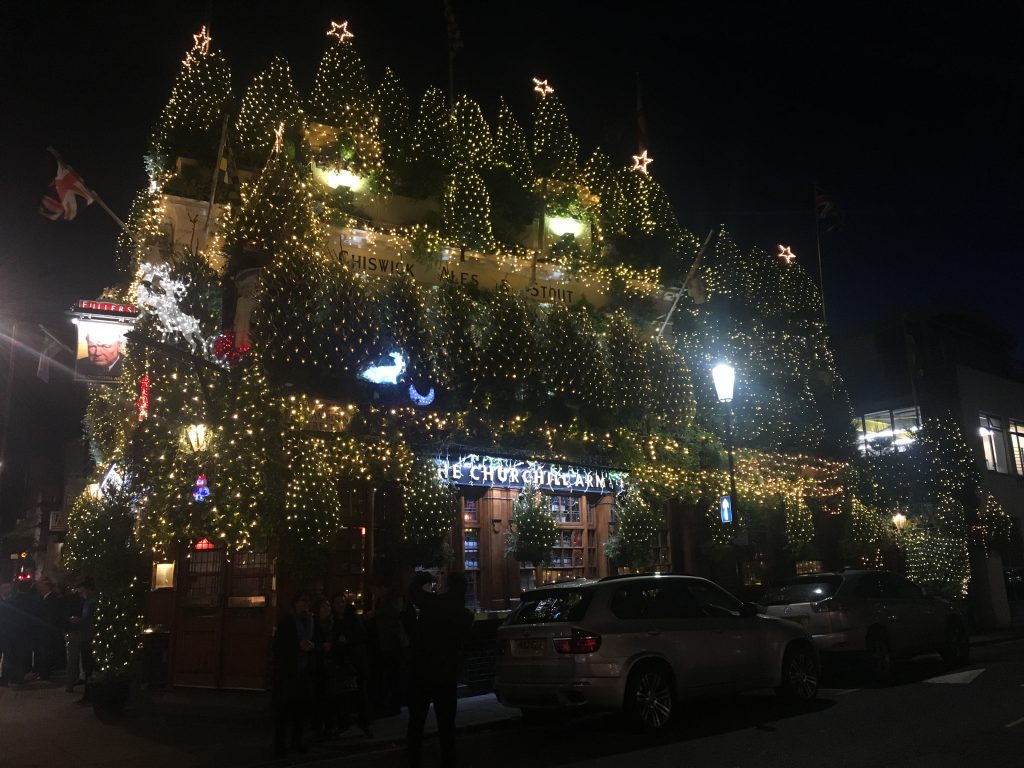 The Most Festive Pub in London