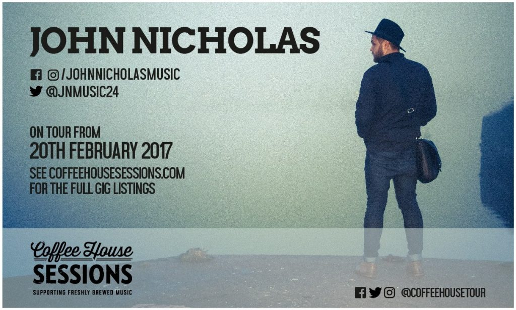 Coffee House Sessions Interview #6 – John Nicholas