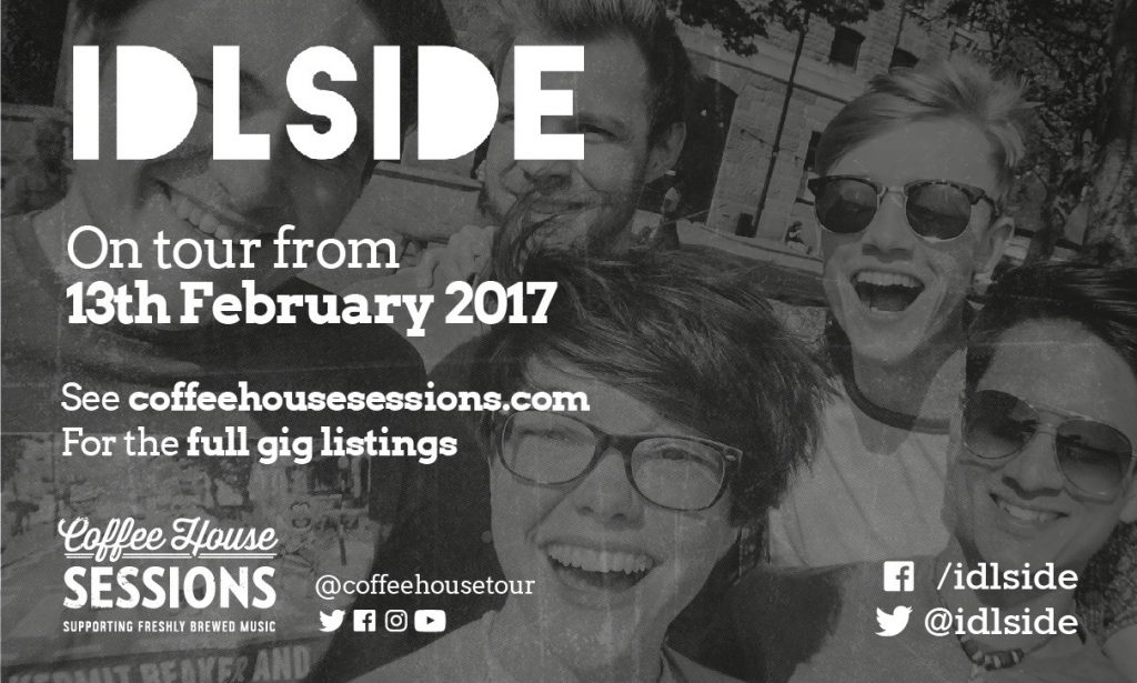 Coffee House Sessions Interview #5 – Idlside