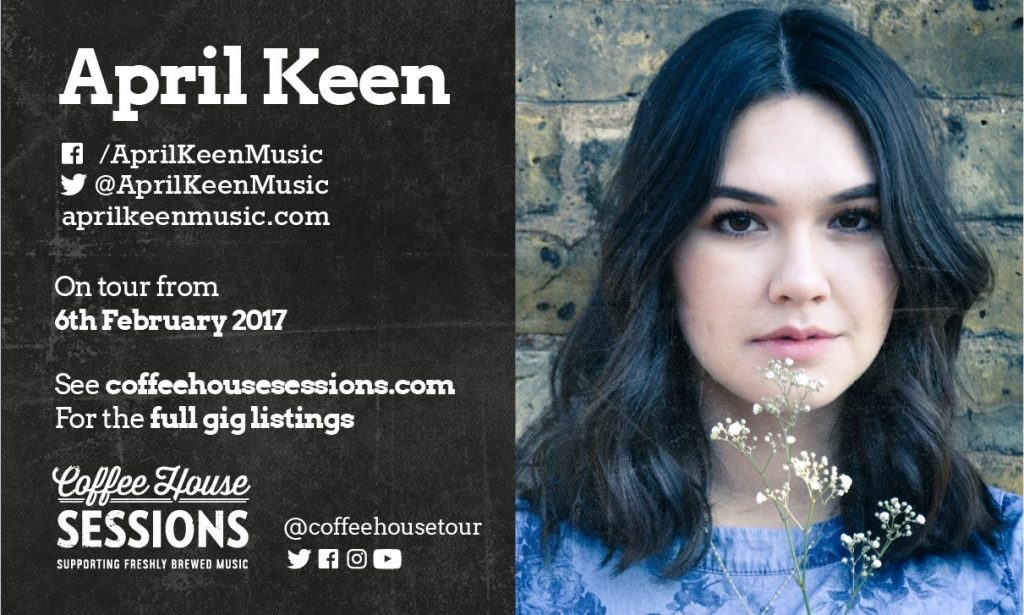 Coffee House Sessions Interview #4 – April Keen