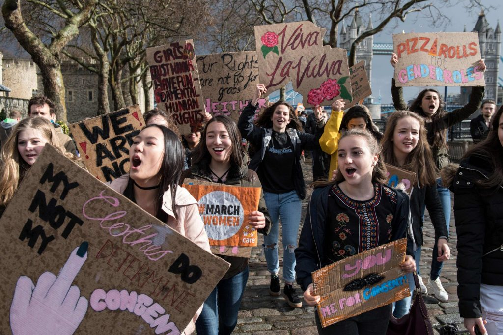 #March4Women: International Women's Day March