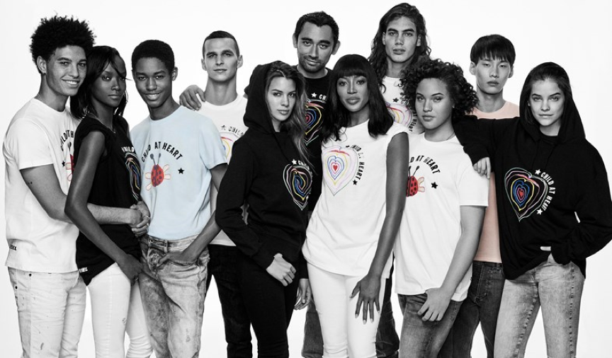 Diesel's Charity Collaboration with Naomi Campbell