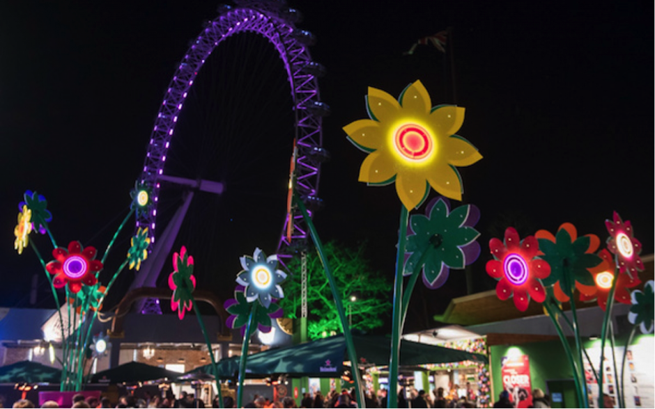 Underbelly Festival at London's Southbank