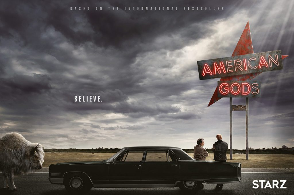 """A show that wants you to sit back, put on the cruise control and listen to endless tales of the vast American highway."" – American Gods Season 1 Spoiler Free Review"