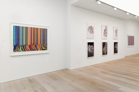 Melismatic Exhibition https://www.alancristea.com/exhibition-158-Ian-Davenport-Melismatic