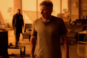 'His finest work yet': Harrison Ford returns as Rick Deckard. © Alcon Entertainment, LLC.
