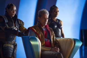 'A supreme example of pitch perfect casting...whenever he's on screen, you will not be able to hide your giddy grin': Jeff Goldblum as The Grandmaster. © Marvel Entertainment