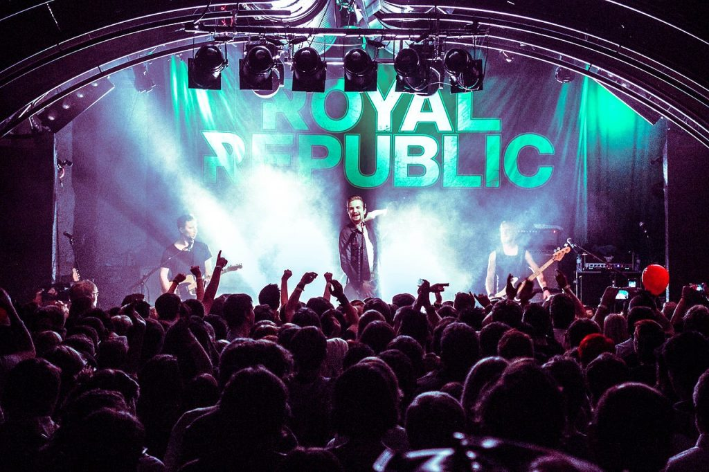 'I can see your underwear from down here': Live Review of Royal Republic @ KOKO, 01/12/17