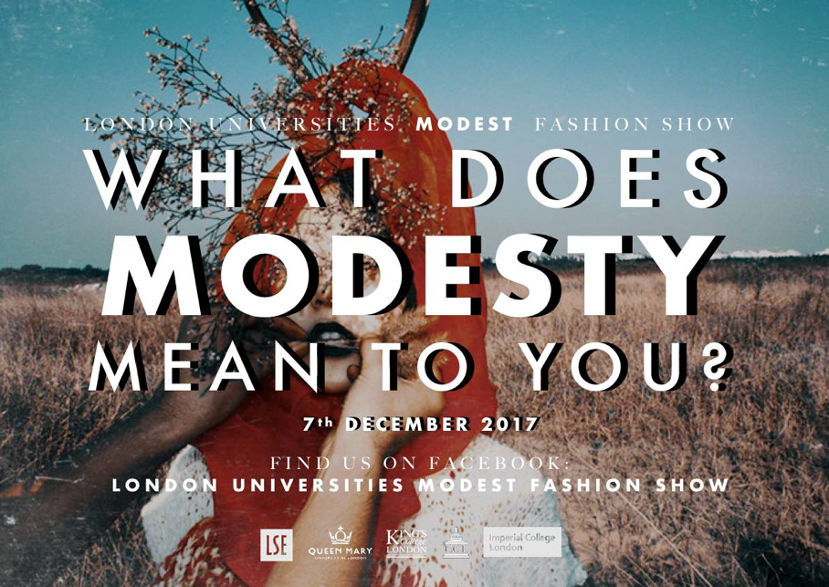 What Does Modesty Mean to You?