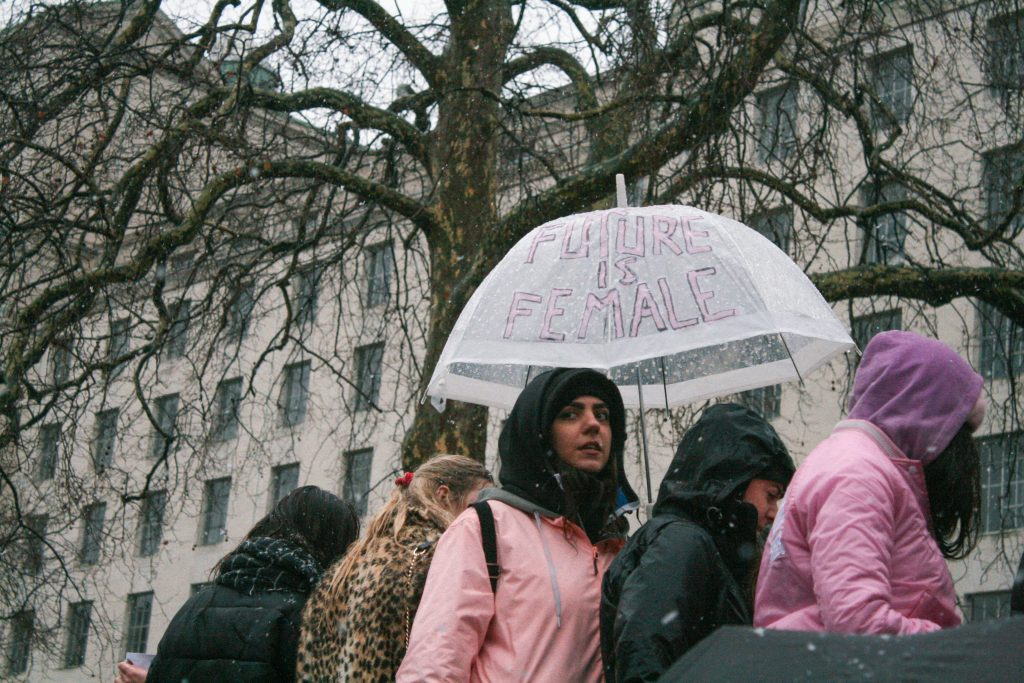 Women's March London: TIME'S UP