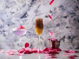 100 Wardour St - Valentine_s Cocktails Cupid_s Arrow, First Date, Bunch of Roses 3