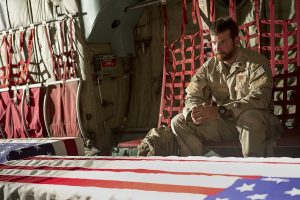 The Curious Case of Chris Kyle: has the post-9/11 patriot lost respectability as a result of a change in ideological views?: Bradley Cooper as Chris Kyle. © Warner Bros. Entertainment
