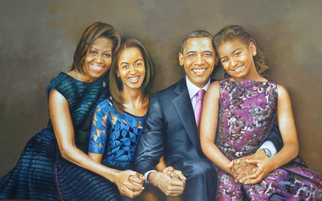 The Obamas: unusual portraits for an unusual presidency