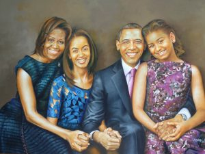 OBAMA_FAMILY_-_OIL_PAINTING