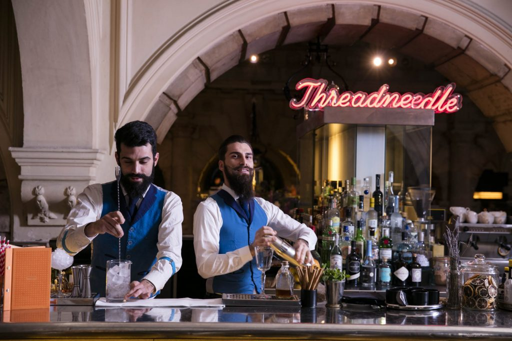 Review: MadLab at Madison & Smoky Cocktails at Threadneedle Bar