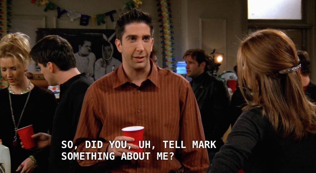 The One Where Ross Geller is THE WORST
