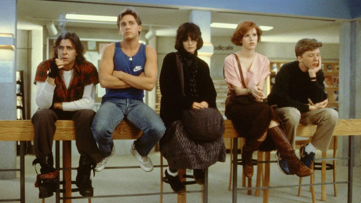 Molly Ringwald, The Breakfast Club and problematic art