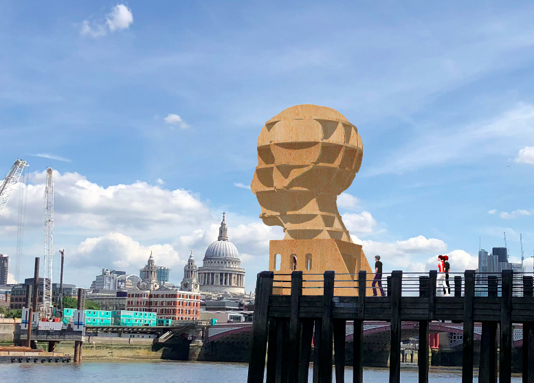 Head Above Water: A public art piece bringing mental health to the Thames.