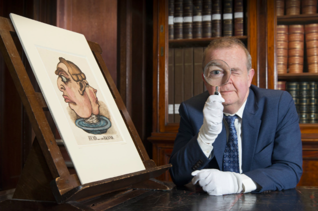 Exhibition Review: 'I object – Ian Hislop's search for dissent'.