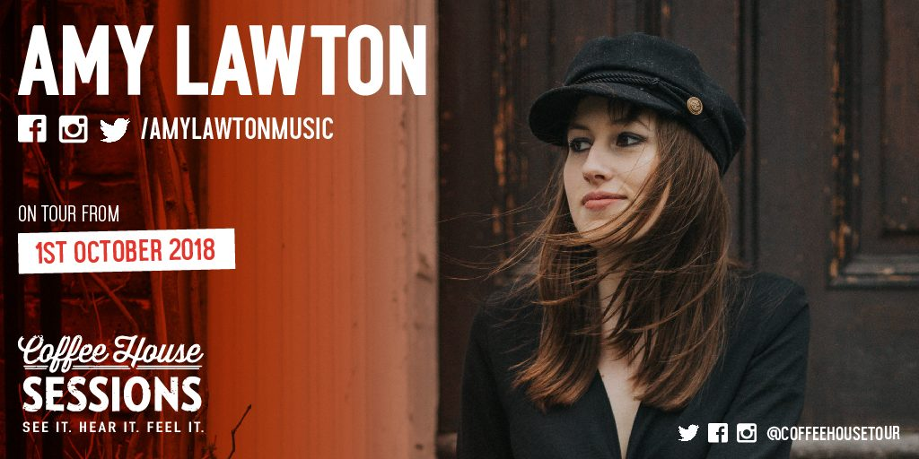Exclusive Interview: Amy Lawton @ Coffee House Sessions.