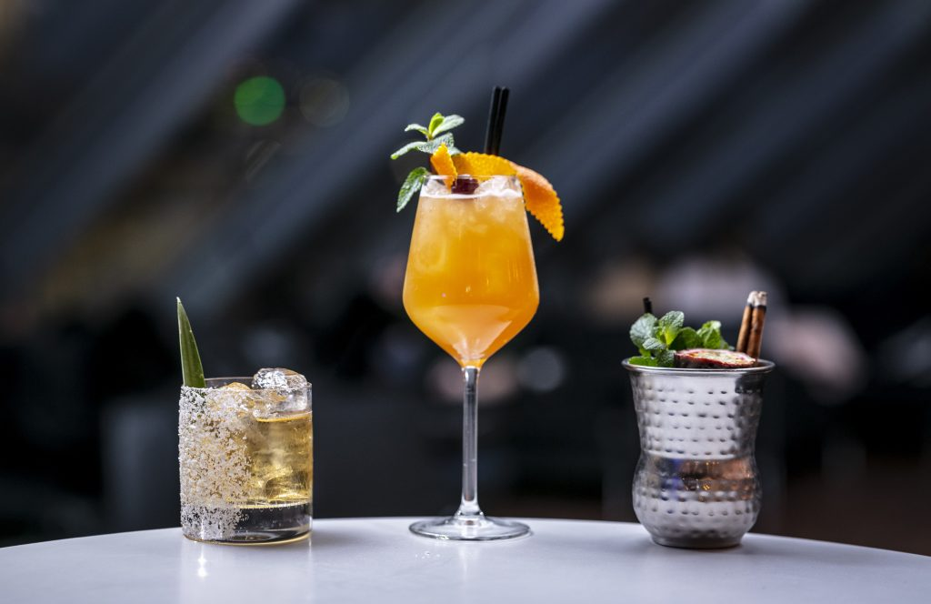 Tiki-inspired Cocktails at Madison Rooftop Bar