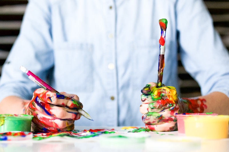 To Brush Over It: What exactly is art therapy?