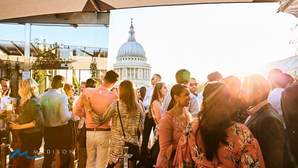 Soul House Sessions @ Madison Rooftop Bar, London.