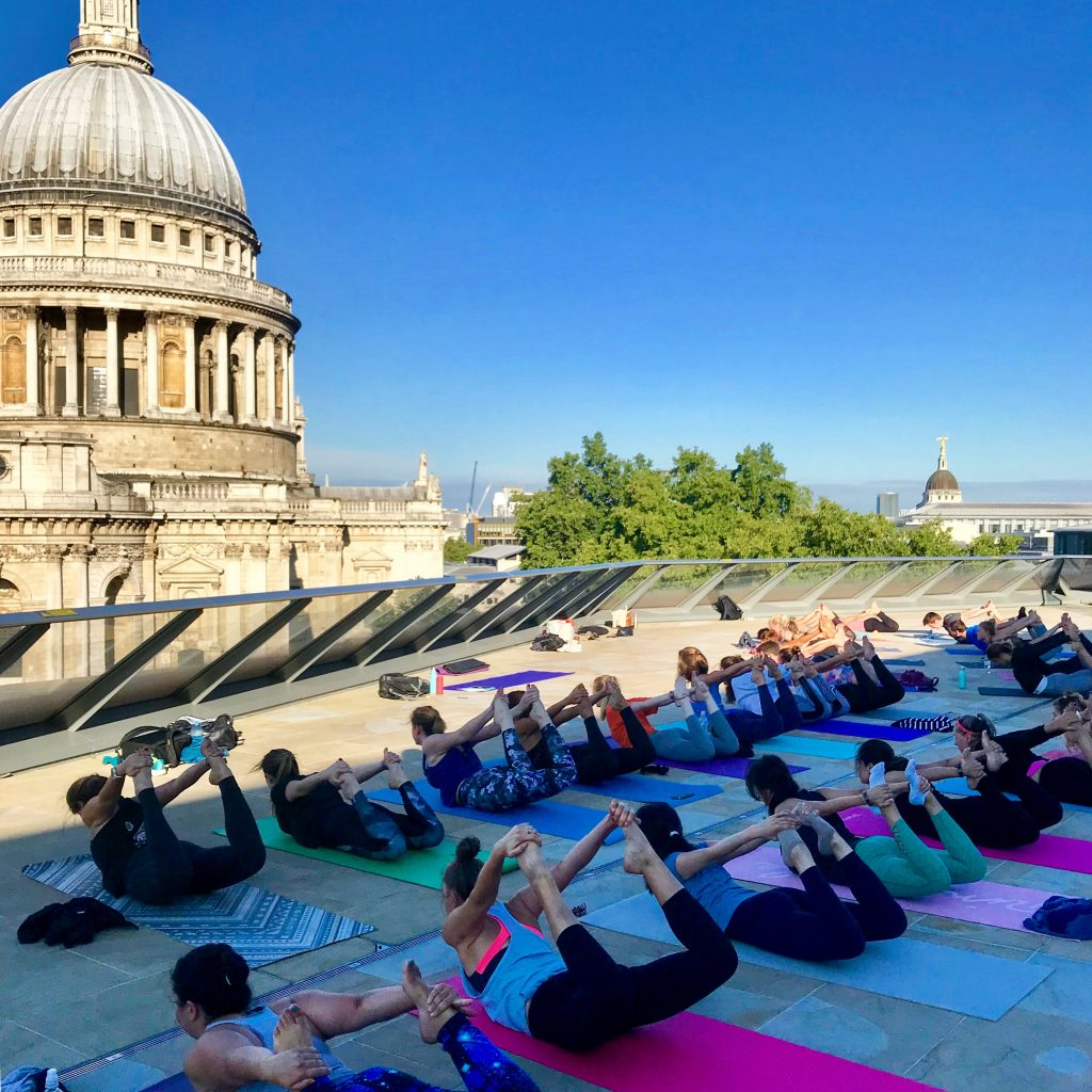 Madison's Rooftop Yoga Summer Series – Launching the 5th of June.
