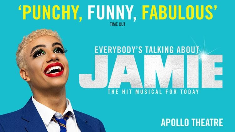 If you watch any theatre show this year, make it 'Everybody's Talking About Jamie'.